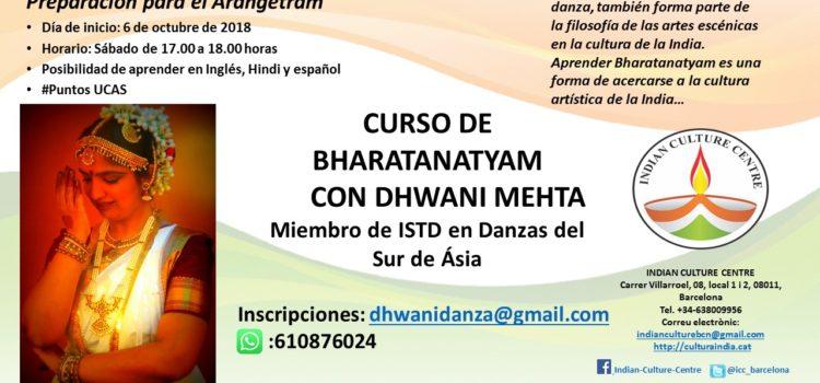 Bharatanatyam Course with Dhwani Mehta