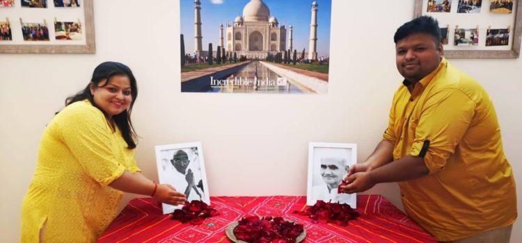 Anniversary of the birth of Gandhi and Shastri