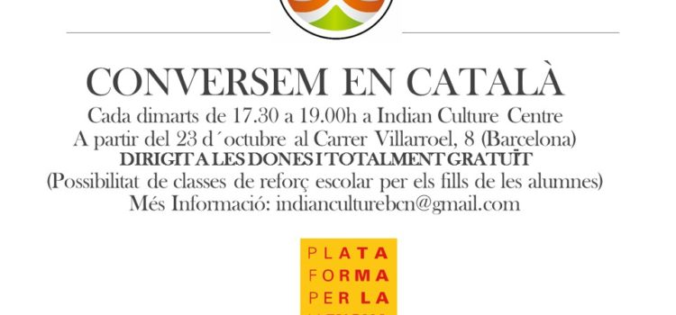 Free Catalan language course for women