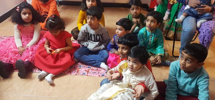 Celebración de Pongal junto a la comunidad del Sur de la India