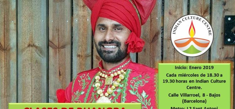 Clases de Bhangra con Palwinder Nijjar