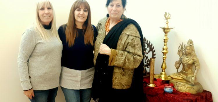 Visita de Teresa de l'ONG És Purna