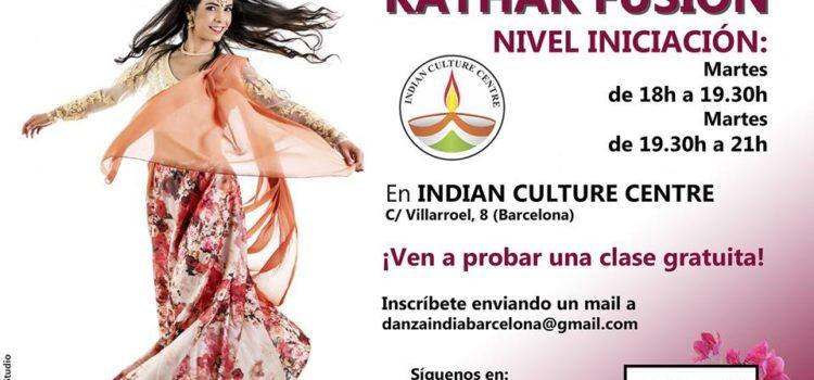 Clases de danza Kathak Fusión