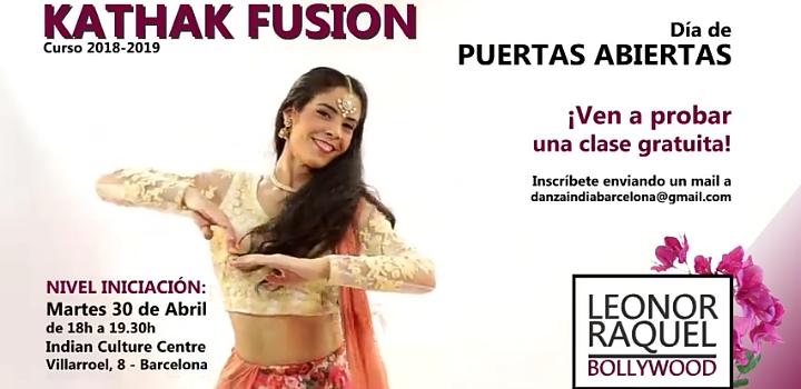 Classe Gratuïta de Dansa Kathak Fusió 30 d'Abril