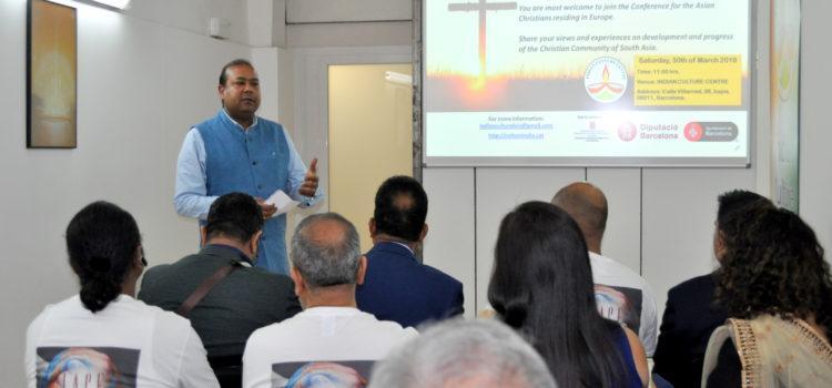 """Conferencia """"Cristianos de Asia del Sur"""""""
