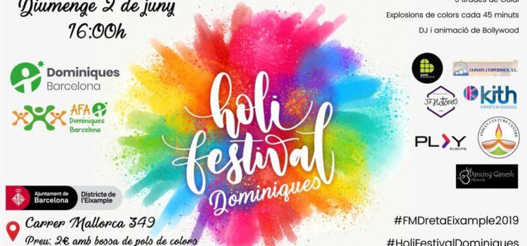 Holi Festival Dominiques