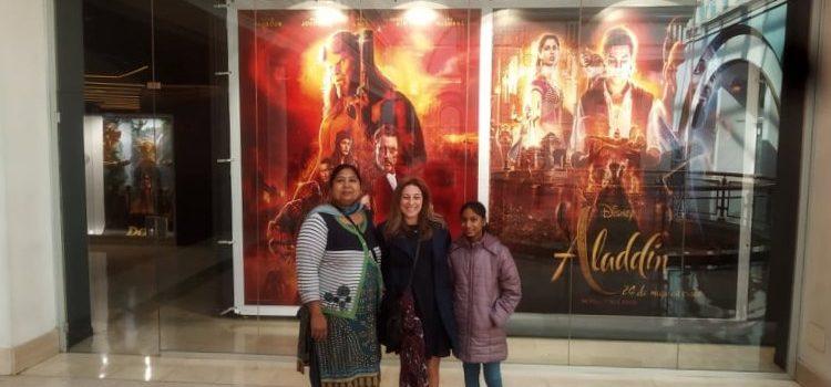 "Sortida al cinema ""castellà en família"""