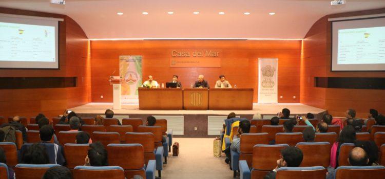 Trobada amb estudiants i professionals indis a Catalunya