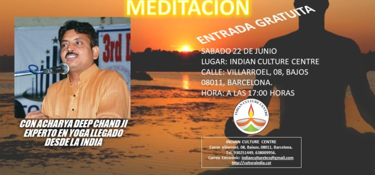 Conferencia sobre Meditación