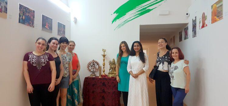 Taller de danza con Anasua Majumdar