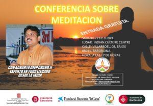 Conferència sobre Meditació