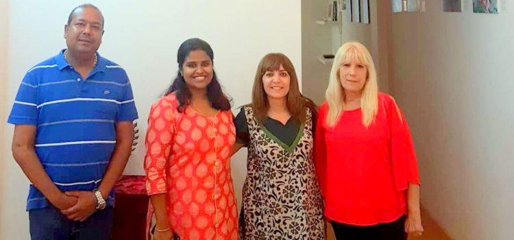Visita de Ms. Jeeva Maria Joy a ICC