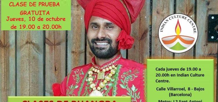 Clase Gratuita de Bhangra con Palwinder Nijjar