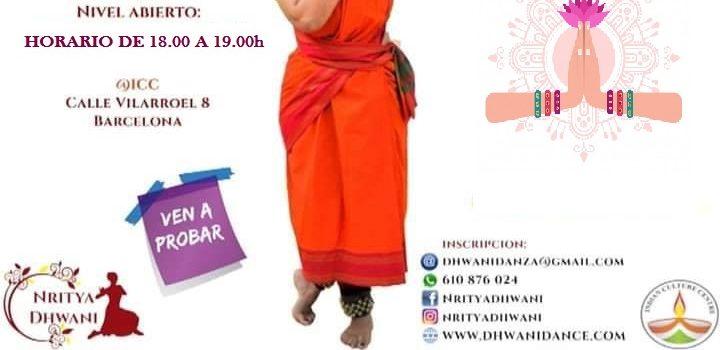 Clase Gratuita de Bharatanatyam Junior con Nritya Dhwani