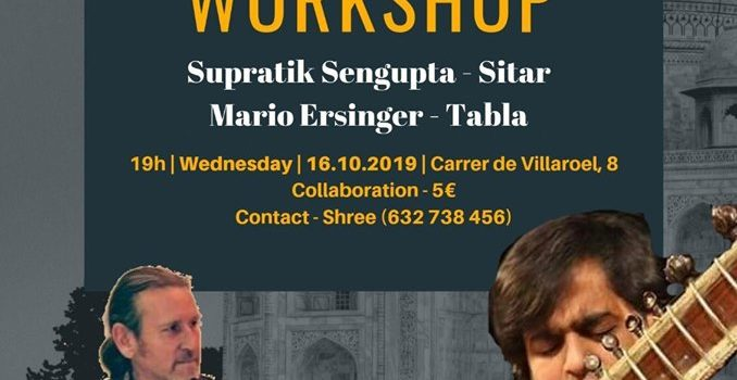 Sitar Workshop a Barcelona