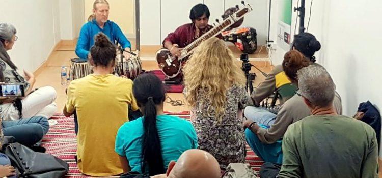 Sitar Workshop en Indian Culture Centre
