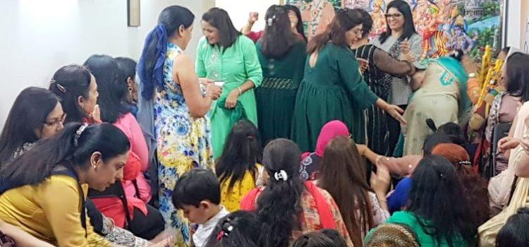 Celebració de la segona nit de la Deessa Durga