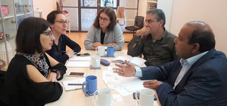 Reunión con técnicos de Sant Antoni