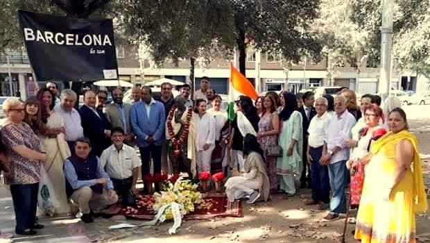 150è aniversari de Mahatma Gandhi