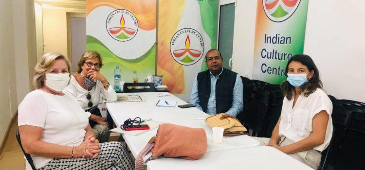 Reunión con representantes del Banco de Alimentos