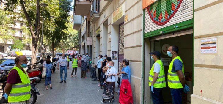 Solidaritat Alimentària Barcelona 26/07/20