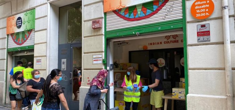 Solidaridad Alimentaria Barcelona 16/08/2020