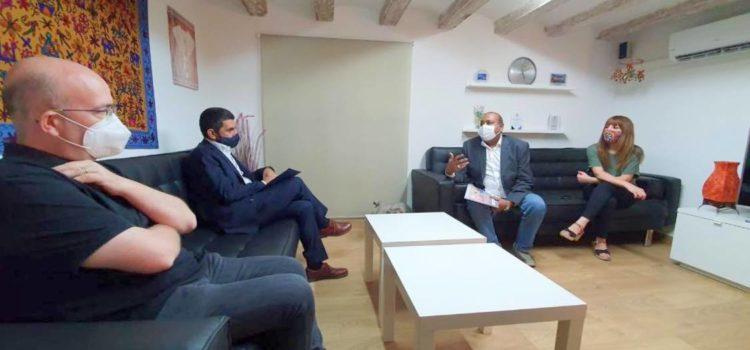 Visita del Conseller Chakir El Homrani