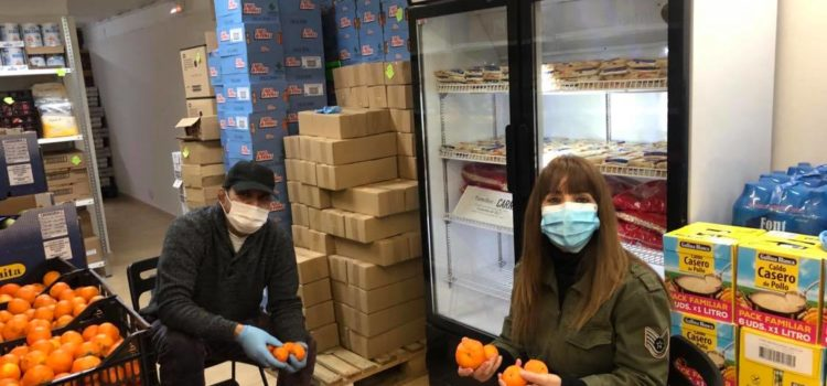Donació de fruites realitzada pel Banc dels Aliments de Barcelona