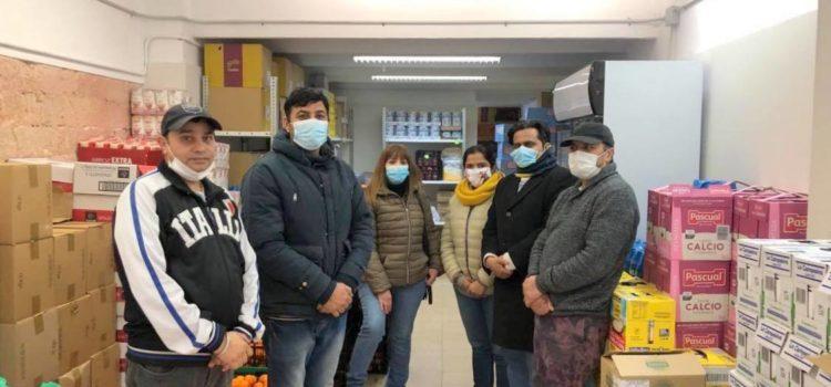 Donació de Dhwani I Kandarp Mehta per al Projecte Solidaritat Alimentària Barcelona