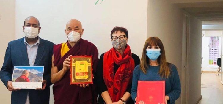 Visita del Sr. Thubten Wangchen (Fundación Casa del Tibet)
