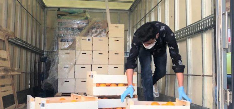Donación de fruta del Banco de Alimentos 10-03-2021