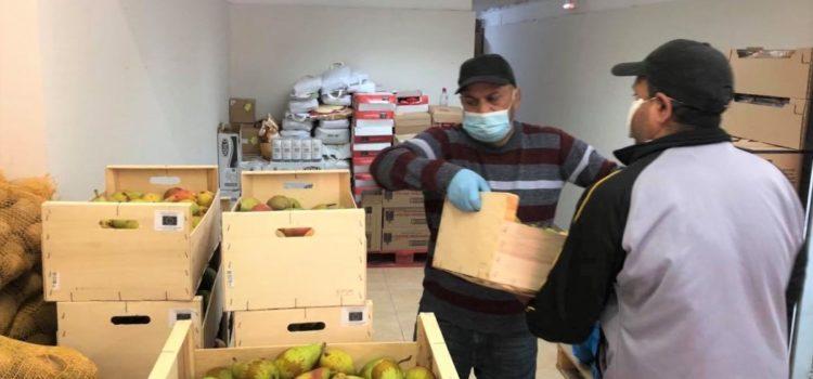 Donación de Fruta del Banco de Alimentos