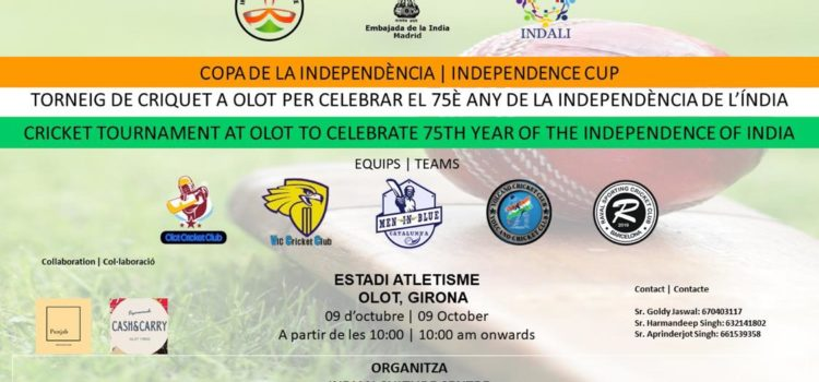 Torneo Copa de la Independencia de la India de Cricket.