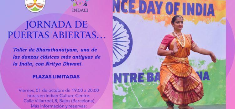Jornada de Puertas Abiertas «Taller de Danza Bharathanatyam»