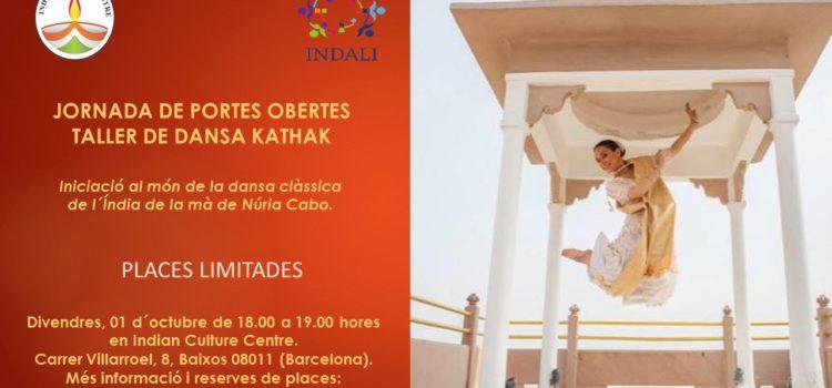 "Jornada de Portes Obertes ""Taller de Dansa Kathak"""""