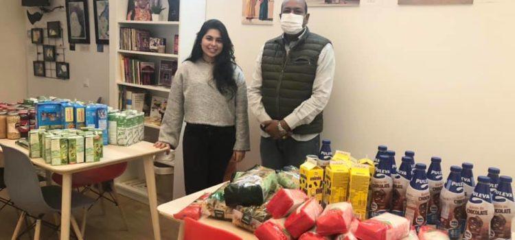 Sadarangani family food donation