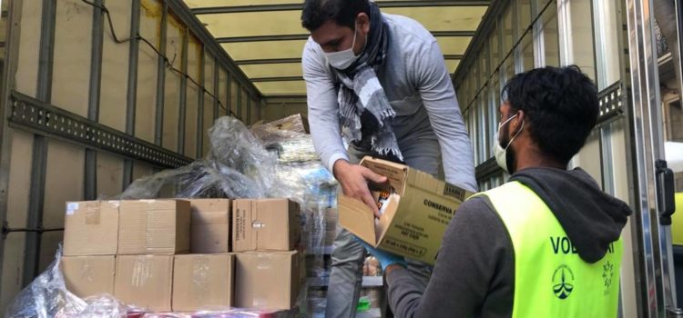 Delivery of the Food Bank 12-10-2020