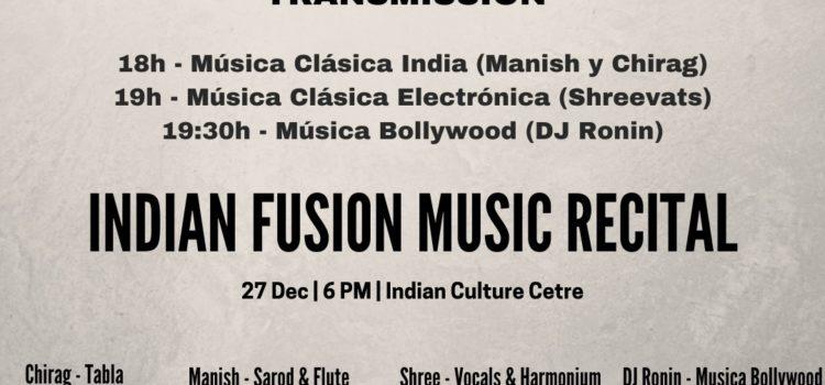 Christmas Concert: Indian Fusion Music Recital