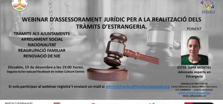 Webinar: Legal advice for immigration procedures