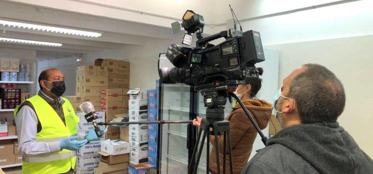 TV3 report (Int. Volunteer Day)