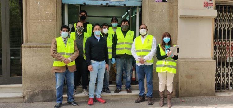 Visita de membres de l'Ambaixada de l'Índia a Madrid,