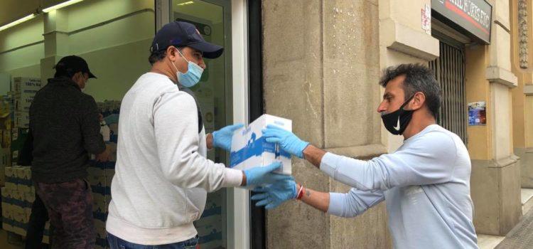 Lliuraments del Banc dels Aliments de Barcelona 11-03-2021