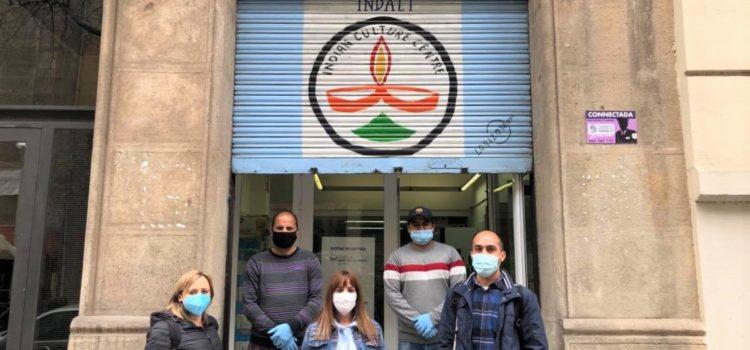 Visita Tècnica de barri de Sant Antoni i el coordinador del Projecte Xeix