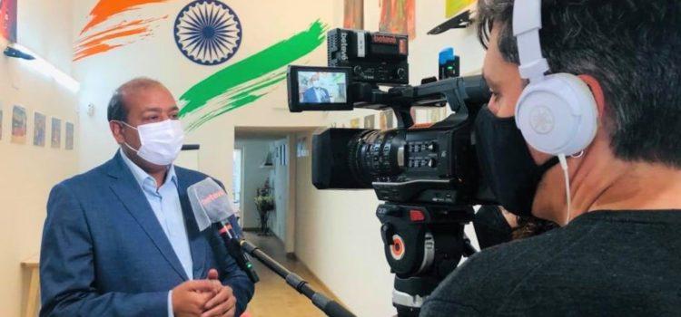 Entrevista en BTV «Emergencia sanitaria en la India»