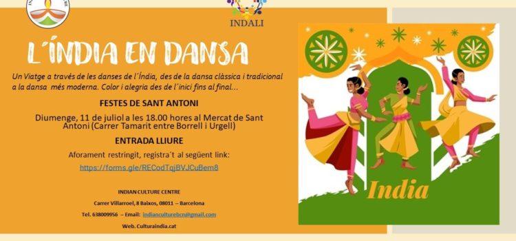 """""""L´Índia en Dansa"""" a la Festa Major de Sant Antoni"""