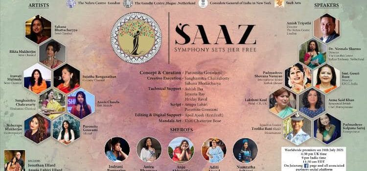 ICC col·labora en el musical Saaz – Symphony Sets Her Free