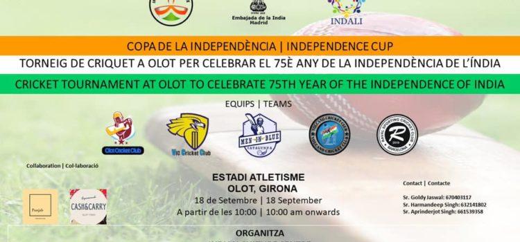 Torneo de Cricket «Copa de la Independencia de la India»